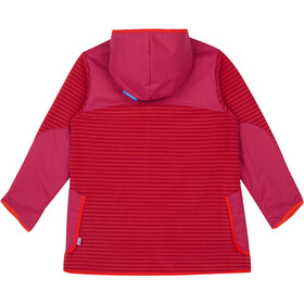 Finkid Kids Kodikas Fleece Jacket cranberry/grenadine